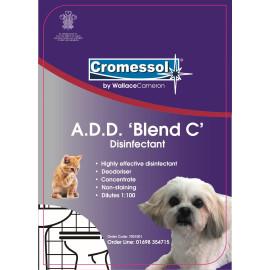 5Ltr Cromessol A D D Blend C Disinfectant (Box 2)