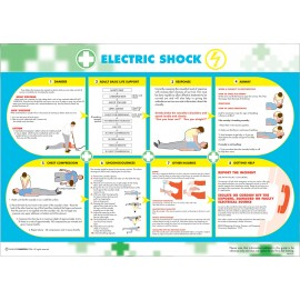 Electric Shock Poster 590mm x 420mm