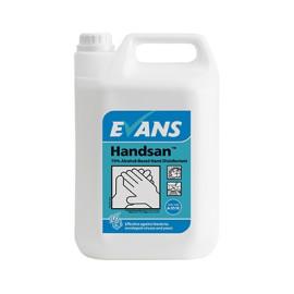 5ltr Handsan Alcohol Hand Sanitiser (Pack 2)