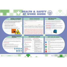 Health & Safety At Work Guidance Poster 590mm x 420mm