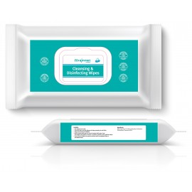 McKinnon Cleansing and Disinfectant Wipes (Pack 50)