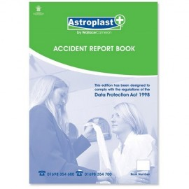Accident Report Book A5